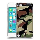 Die besten Ipod 5 Hüllen 1 Stück - Head Case Designs Woodland Militärische Tarnfarben Ruckseite Hülle Bewertungen