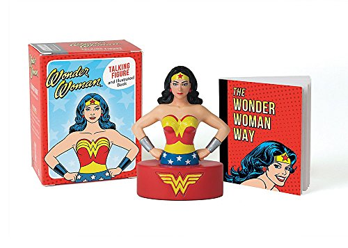 Zoom IMG-1 wonder woman talking figure and