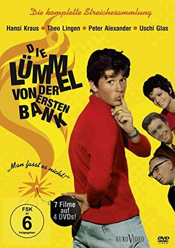 Die Lümmel von der ersten Bank – Die komplette Streichesammlung (4 DVDs)