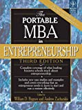 Telecharger Livres THE PORTABLE MBA IN ENTREPRENEURSHIP 3ED Paperback Jan 01 2007 BYGRAVE (PDF,EPUB,MOBI) gratuits en Francaise