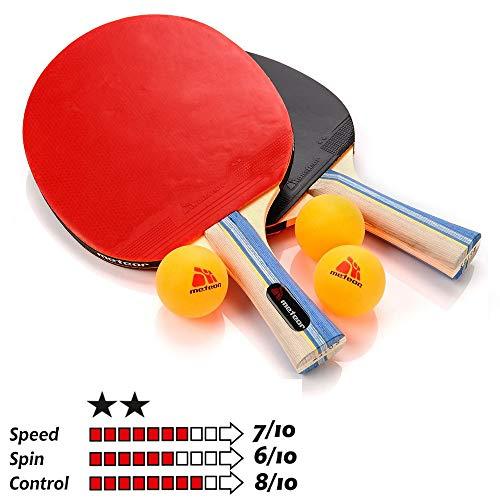 Pala Tenis Mesa Table Tennis Set 2 Raquetas 3 Pelotas