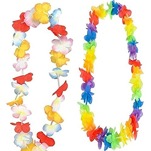 Luau Flower Leis - 24 Pc Party Pack by happy deals