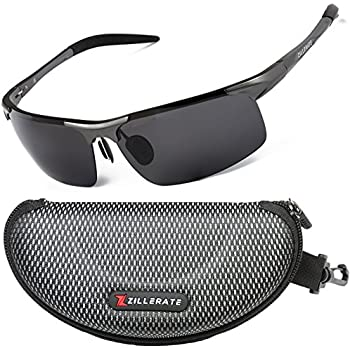 3a5552c84f Sunglasses Man Polarised Sunglasses for Men Women by ZILLERATE