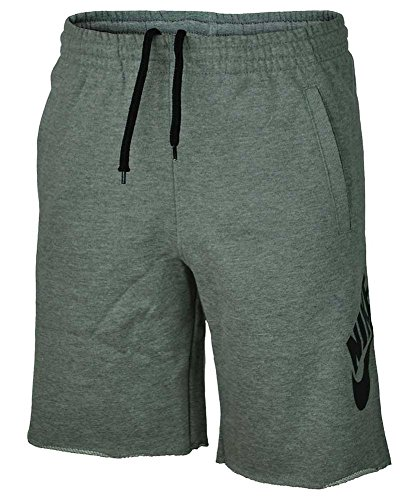 Nike SB Sweat Short Junior Kinder Shorts Kurze Hose, Grösse:D/110-116 / UK/5-6Y - US/XXS - FR/5-6A, Modell:Dark Gray Heather - Junior Mädchen Short