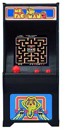 Ms. Pac-Man Miniature Arcade Game