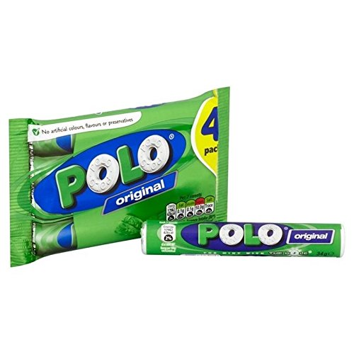 Polo Original Mints - The mint with the hole - 2er Set (4 x 34g)