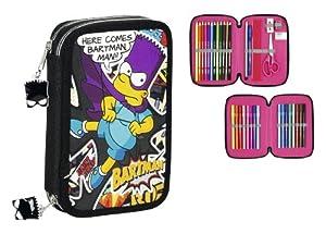 Los Simpsons - Plumier Doble pequeño (SAFTA 411405054)