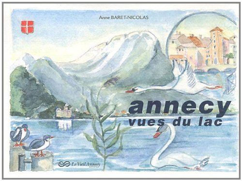 Annecy, vues du lac