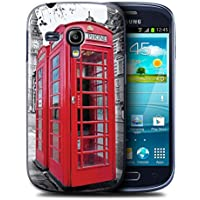 Stuff4 Hülle / Hülle für Samsung Galaxy S3 Mini / Red Phone Box Muster / London England Kollektion
