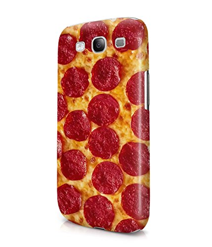 Pepperoni Pizza Lover Plastic Snap-On Case Cover Shell For Samsung Galaxy S3