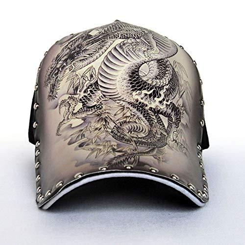 CGXBZA 3D Druck Chinesischen Stil Dragon Peafowl Elefant Schädel Adler Baseballmütze Männer Frauen Mode Kappe Hip Hop Hut -