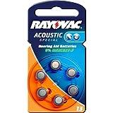 Rayovac Extra Advanced Hörgerätebatterie Typ 13 6er Blister, Zink-Luft, 1,4V