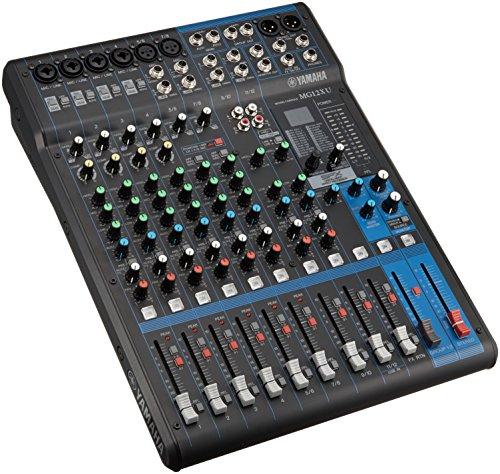 Yamaha MG12XU 12 In PA Mixer & USB Audio Interface - New