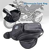 fancyU wasserdichte Motorrad Gas Öl Kraftstofftank Rucksack Magnetische Tankrucksack Für Honda Yamaha Suzuki Kawasaki Harley