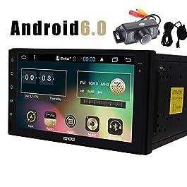Auto Autoradio Dash Android 6.0 Quad Core HD 1080P Headunit Doppio Din 7 pollici GPS Stereo UNIVERSALE navigazione FM…