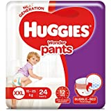 Huggies Wonder Pants Double Extra Large Size Diapers (24 Count)