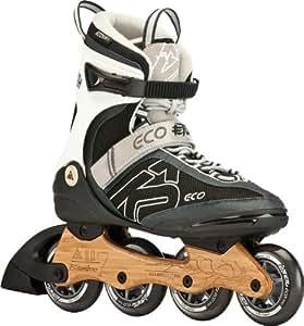 K2 Herren Eco Skate Etu, schwarz, 39.5 (US 7)