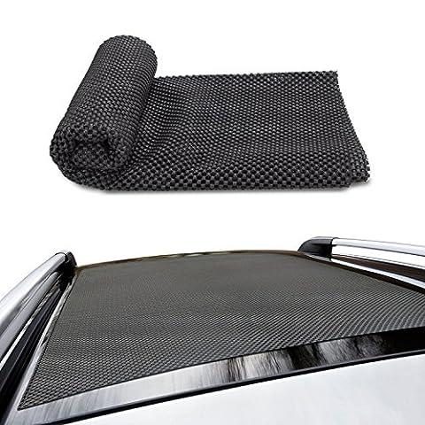 Siivton Car Roof Protective Mats,Multipurpose Car Roof Non-slip Cargo Mats 36*39