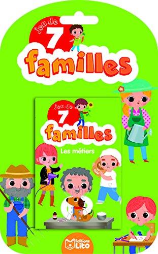 Jeux 7 Familles - les métiers - dès 5 ans par Sonia Baretti