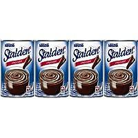 STALDEN Dessertcreme aus der Schweiz - Geschmack: Schokolade - 4 x 470 g