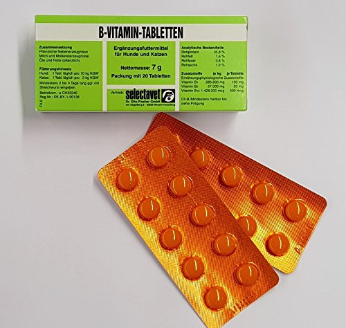 Selectavet B-Vitamin 20 Tabletten