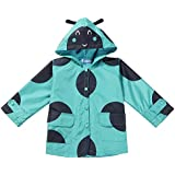Arshiner Toddler Kids Printed Lightweight Single Jacket Waterproof Outwear Raincoat Hoodies