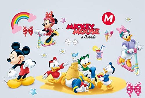 4a06ab6fd56 kibi adesivi Muro Minnie Disney Adesivi Muro Mickey Mouse Adesivo Da Parete  Minnie Camera Da Letto