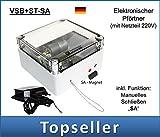 VSB+ST-SA Elektronischer Pförtner mit Stecker-Netzteil und Schließautomatik SA AXT-Electronic