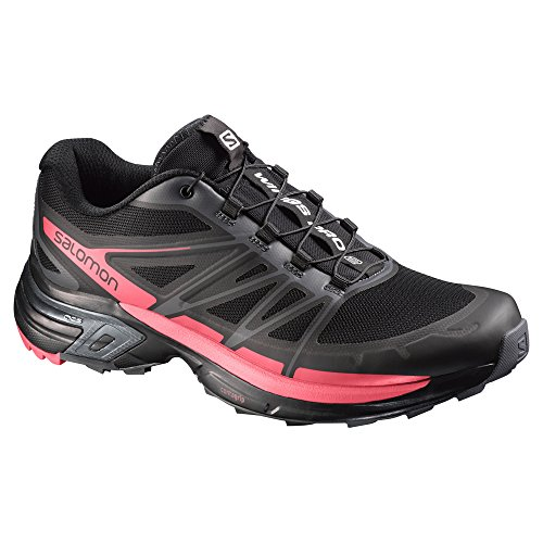 SalomonWings Pro 2 - Scarpe Running Donna black-dark cloud-madder pink