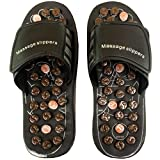 25.5 CM Sandals Shoes Massage Massager Slippers Acupuncture Foot Care Reflex FT RF 10
