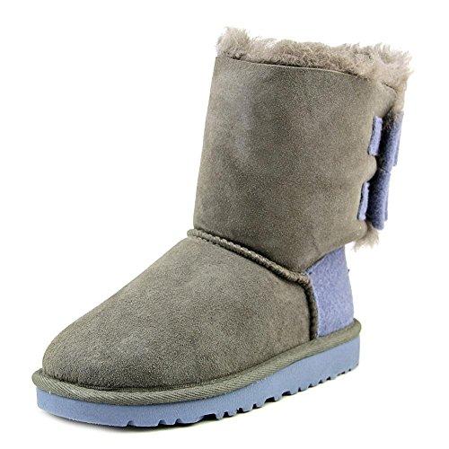 ugg-australia-k-bailey-bow-wool-madchen-us-11-grau-winterstiefel-uk-10