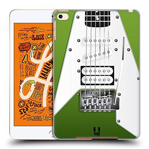 Head Case Designs Apfelgrün Elektrische Gitarre Harte Rueckseiten Huelle kompatibel mit iPad Mini (2019) (E-gitarren Harte Case)
