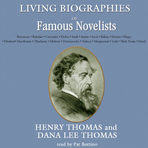 Living Biographies of Famous Novelists  Audiolibri