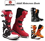 SCOYCO ADULT MX BOOTS - Motorcycle Motorbike Quad ATV Enduro Off Road Dirt