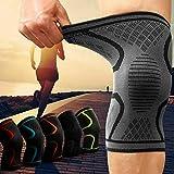 Kniebandage gegen Knieschmerzen 2er Set für Männer & Frauen - Bequeme Sport Knieorthese mit Antirutsch Saum - Knee Sup