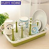 Generic Blue B : Kitchen Storage Shelf Cup Dish Rack Hanger Drainer Organizer Estanteria Perchero Prateleira Estante Flower Rack EGN003A