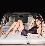 LLX Air Beds Inflations Bett Auto Reisen Matratze Aufblasbares Bett Camping Auto Rücksitz Extended Couch Für Suvs, MPV und Sedans und Trucks Camping Universal,Beige