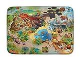 Spielteppich Ultrasoft - Rutschfest 100 x 150 cm (Dinosaurier)