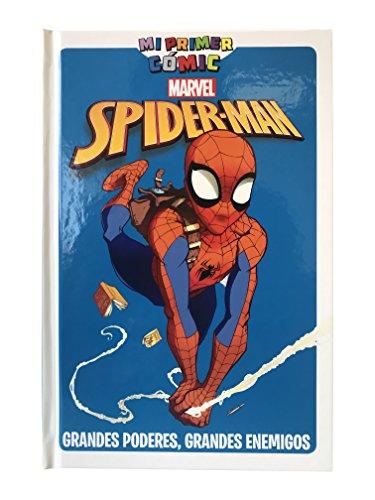 Spiderman. Grandes poderes, grandes enemigos. Mi primer cómic por Rob Di Salvo