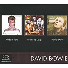 Coffret 3 CD : Aladdin sane / Diamond dogs / Hunky dory
