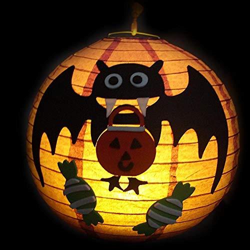 Lxj halloween fai da te lanterna spider bat guidata ghost festival puntelli decorazioni zucca padre decorazioni e forniture