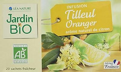 Jardin Bio Infusion Tilleul Oranger 30 g - Lot de 4