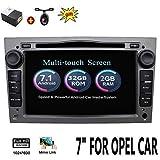 """2 G 32 G Android 7.1 4-Core 7"""" GPS coche reproductor de DVD para Opel Astra Vectra Zafira Antara Corsa Radio Navegación estéreo Audio vídeo color gris con cámara & canbus"""