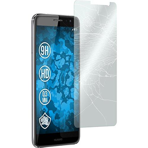 2 x Huawei Nova Plus Pellicola Protettiva Vetro Temperato chiaro - PhoneNatic Pellicole Protettive