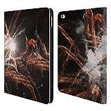 Head Case Designs Offizielle PLdesign Feuerwerk Ferien Und Festtage Brieftasche Handyhülle aus Leder für iPad Air 2 (2014)