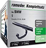 Rameder Komplettsatz, Anhängerkupplung starr + 13pol Elektrik für BMW 5 (142637-01449-2)
