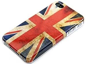 Coque rétro aux couleurs de l'Angleterre pour iPhone 4 / 4S
