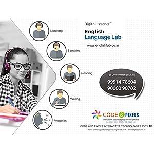 Digital Teacher – English Language Lab (Listening, Speaking, Reading, Writing, Vocabulary & Phonetics)