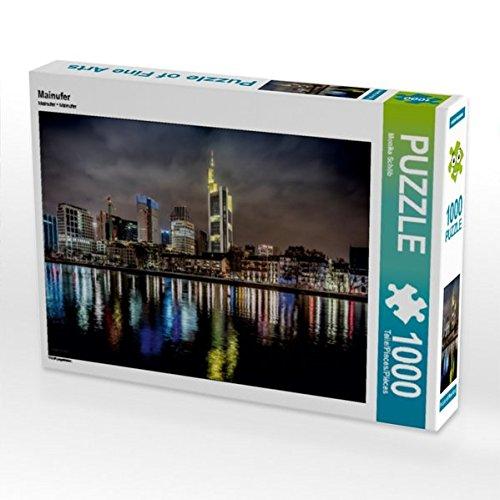Preisvergleich Produktbild Mainufer 1000 Teile Puzzle Quer