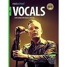 Rockschool: Vocals Grade 2 - Male (Book/Audio Download) 2014-2017 Syllabus